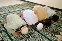 Islam Culture:  Islamic prayer