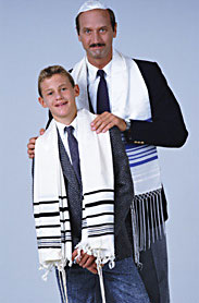 Jewish father and son
