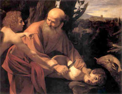 Early Views of God:  Abraham prepares to slay son;  Monotheists and Religion
